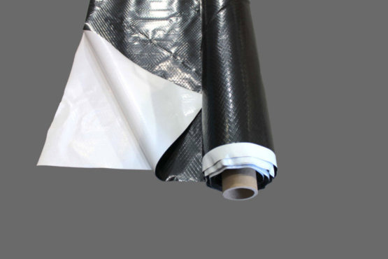 Black & White Reinforced Plastic Sheeting | 6 & 12 mil