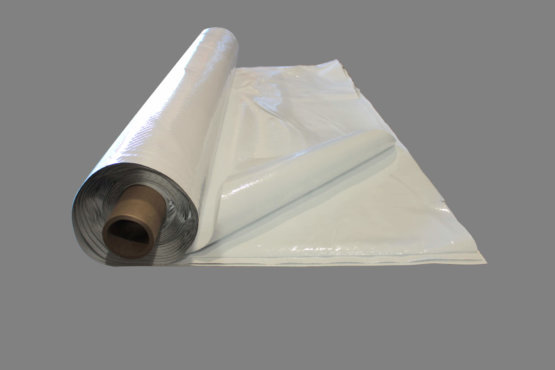 20 mil White Reinforced Plastic Sheeting | Dura-Skrim 20WW