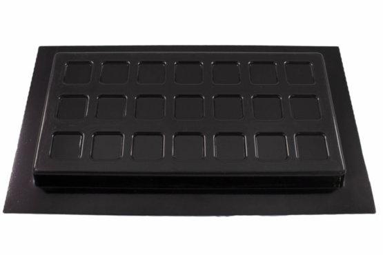 Recessed Vent Covers | Black | Crawl Space DIY