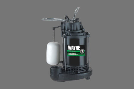 Wayne Submersible 1/2 HP Sump Pump System CDU800