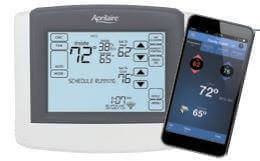 Aprilaire Model 8620W Wi-Fi Thermostat | Crawl Space DIY