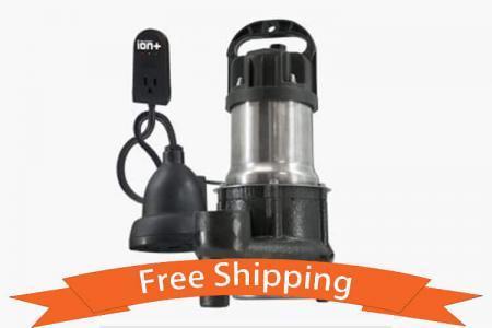 Ion StormPro® BA33i+ | Ion 1/3 HP Sump Pump
