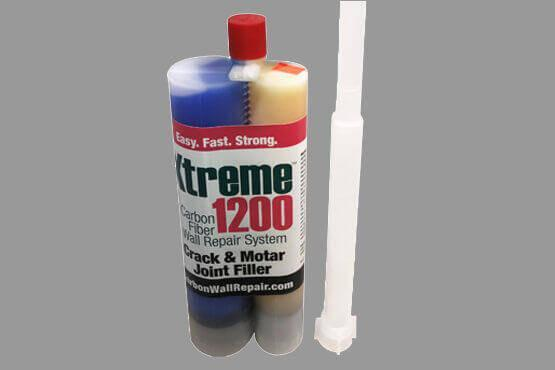 Xtreme 1200 Crack & Mortar Joint Filler with Mixing Tube