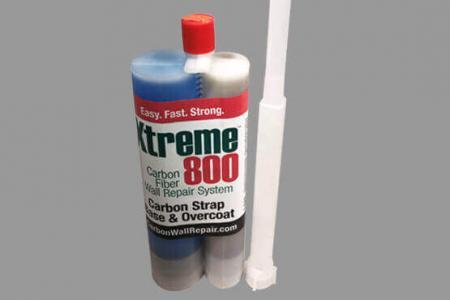 XTREME 800 Carbon Strap Base & Overcoat Epoxy