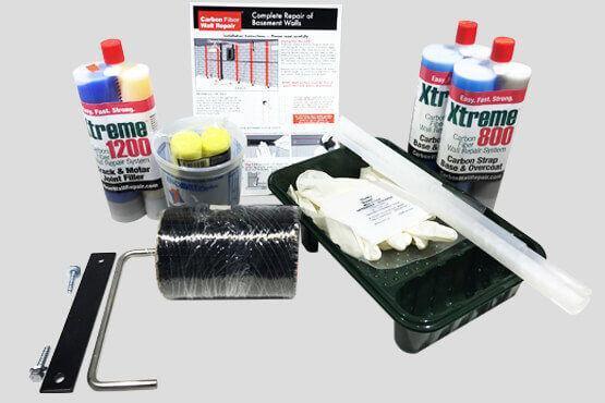 Complete Carbon Fiber 1 Strap Kit
