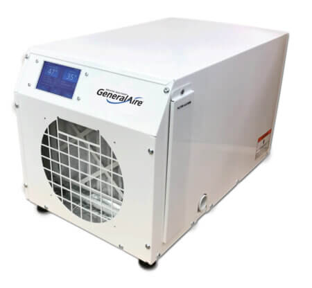 GeneralAire® DH75 Touch Screen & Wi-Fi Control Whole Home Dehumidifier (75 Pints)