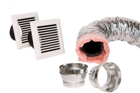 Aprilaire Living Space Duct Kit | Aprilaire Dehumidifier | Crawl Space DIY