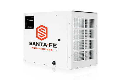 Santa Fe Advance100 | Crawlspace DIY | Dehumidifiers