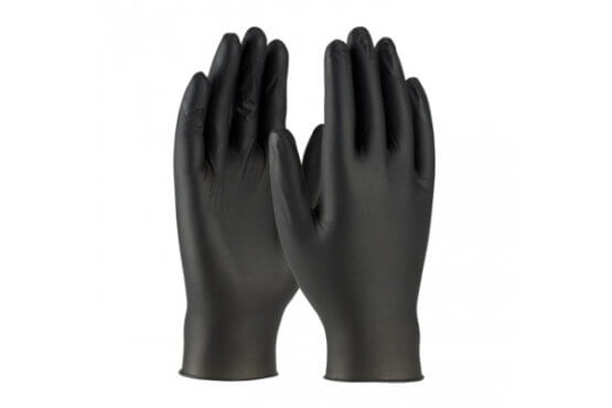 Nitrile Gloves | Powder-free Disposable Gloves | Glove For PPE | Black Pair
