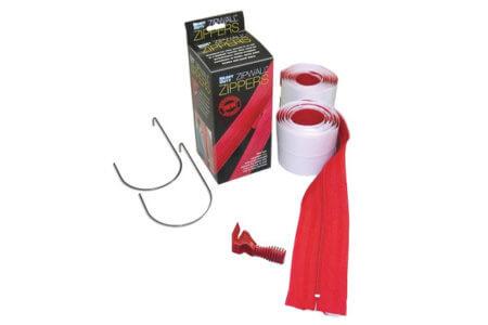 Zipwall Heavy Duty Adhesive Zipper | Crawl Space DIY